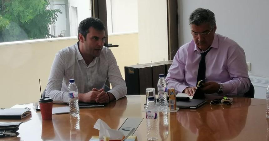 Συνάντηση της Διοίκησης του ΤΕΕ/ΤΔΜ με τον Συντονιστή του Σχεδίου Δίκαιης Αναπτυξιακής Μετάβασης των περιοχών της Δυτικής Μακεδονίας και της Μεγαλόπολης, κο Μουσουρούλη Κωστή
